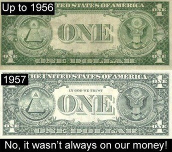 In God We Trust 1956 1957